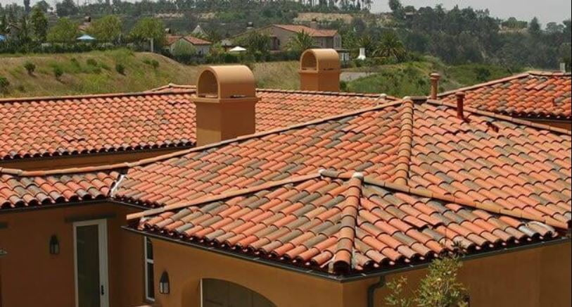 Tile roof Santa Cruz