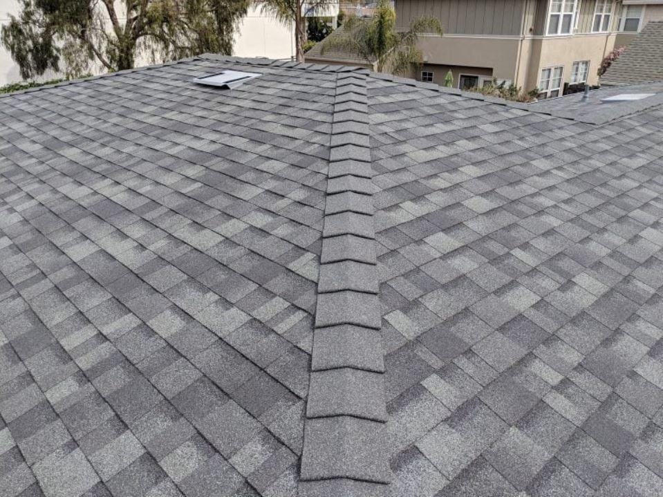 Residential composition roof
